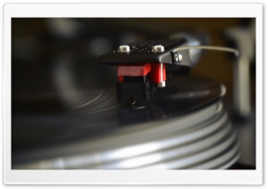 Turntable Record Vinyl Player HD Wide Wallpaper for Widescreen