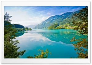 Turquoise Lake HD Wide Wallpaper for Widescreen
