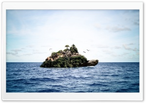 Turtle Island HD Wide Wallpaper for Widescreen