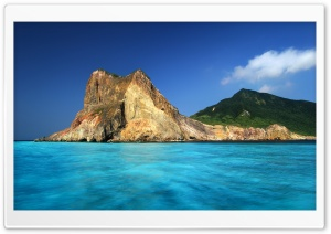 Turtle Island, Taiwan HD Wide Wallpaper for Widescreen