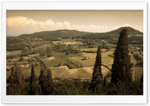 Tuscan Landscape HD Wide Wallpaper for Widescreen