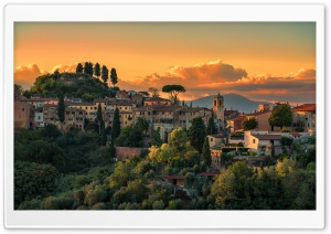 Tuscany Italy Villages Ultra HD Wallpaper for 4K UHD Widescreen desktop, tablet & smartphone