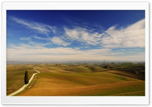Tuscany Landscape HD Wide Wallpaper for Widescreen