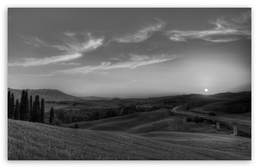 Tuscany Landscape Monochrome HD wallpaper for Wide 16:10 5:3 Widescreen WHXGA WQXGA WUXGA WXGA WGA ; HD 16:9 High Definition WQHD QWXGA 1080p 900p 720p QHD nHD ; Standard 4:3 5:4 3:2 Fullscreen UXGA XGA SVGA QSXGA SXGA DVGA HVGA HQVGA devices ( Apple PowerBook G4 iPhone 4 3G 3GS iPod Touch ) ; Tablet 1:1 ; iPad 1/2/Mini ; Mobile 4:3 5:3 3:2 16:9 5:4 - UXGA XGA SVGA WGA DVGA HVGA HQVGA devices ( Apple PowerBook G4 iPhone 4 3G 3GS iPod Touch ) WQHD QWXGA 1080p 900p 720p QHD nHD QSXGA SXGA ;