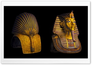 Tutankhamun Mask HD Wide Wallpaper for Widescreen