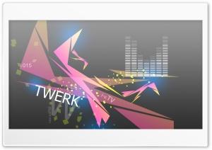 Twerk Music SC Fifteen Abstract eQ Words 2015 design by Tony Kokhan Ultra HD Wallpaper for 4K UHD Widescreen desktop, tablet & smartphone