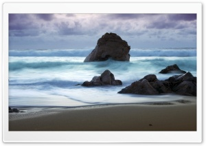 Twilight At Big Sur HD Wide Wallpaper for Widescreen