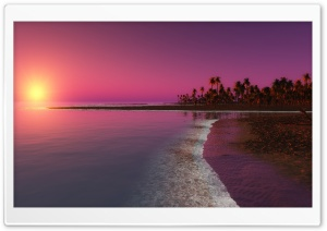 Twilight Sunset HD Wide Wallpaper for Widescreen