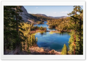 Twin Lakes California HD Wide Wallpaper for Widescreen