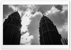 Twin Towers HD Wide Wallpaper for Widescreen