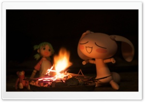 Twitter 365 and Yotsuba HD Wide Wallpaper for Widescreen