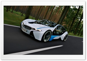Twix's BMW Vision HD Wide Wallpaper for Widescreen