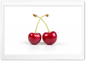 Two Cherries HD Wide Wallpaper for 4K UHD Widescreen desktop & smartphone