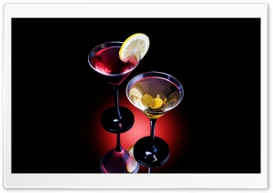 Two Cocktails HD Wide Wallpaper for 4K UHD Widescreen desktop & smartphone