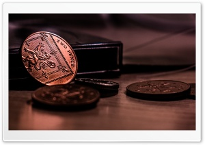 Two Pence HD Wide Wallpaper for Widescreen