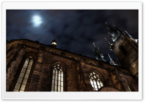 Tyn Cathedral HD Wide Wallpaper for Widescreen