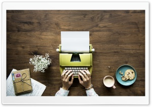 Typewriter HD Wide Wallpaper for 4K UHD Widescreen desktop & smartphone