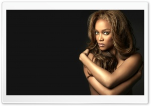 Tyra Banks HD Wide Wallpaper for Widescreen
