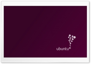 Ubuntu HD Wide Wallpaper for Widescreen