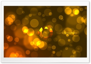 Ubuntu Bokeh HD Wide Wallpaper for 4K UHD Widescreen desktop & smartphone