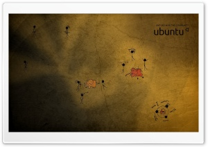 Ubuntu Community HD Wide Wallpaper for Widescreen