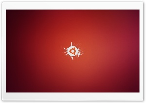 Ubuntu Logo HD Wide Wallpaper for 4K UHD Widescreen desktop & smartphone