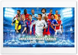 UEFA CHAMPIONS LEAGUE 2014-2015 HD Wide Wallpaper for Widescreen