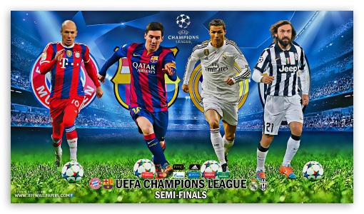 UEFA CHAMPIONS LEAGUE SEMI-FINALS 2015 ❤ 4K UHD Wallpaper for 4K UHD 16:9 Ultra High Definition 2160p 1440p 1080p 900p 720p ; Mobile 16:9 - 2160p 1440p 1080p 900p 720p ;
