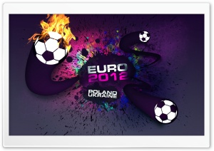 UEFA Euro 2012 HD Wide Wallpaper for Widescreen