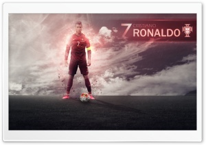 UEFA EURO 2016   Cristiano Ronaldo HD Wide Wallpaper for Widescreen