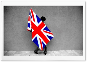 Uk Flag HD Wide Wallpaper for Widescreen
