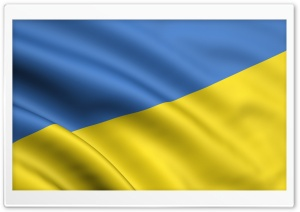 Ukraine Flag HD Wide Wallpaper for Widescreen