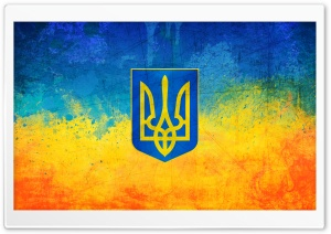 Ukrainian Flag HD Wide Wallpaper for Widescreen