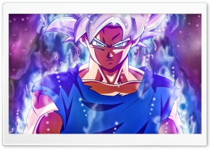 Ultra Instinct Goku HD Wide Wallpaper for 4K UHD Widescreen desktop & smartphone