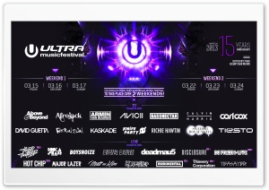 Ultra Music Festival 2013 HD Wide Wallpaper for Widescreen