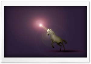 Ultraviolet Unicorn HD Wide Wallpaper for Widescreen