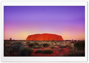 Uluru Rock HD Wide Wallpaper for Widescreen