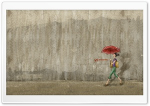 Umbrella HD Wide Wallpaper for 4K UHD Widescreen desktop & smartphone