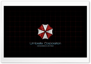 Umbrella Corp. HD Wide Wallpaper for Widescreen