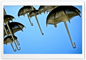 Umbrellas HD Wide Wallpaper for Widescreen