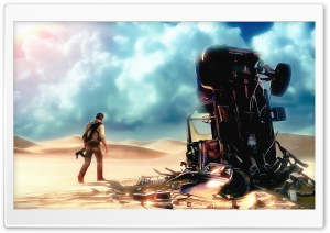 Uncharted 3 HD Wide Wallpaper for Widescreen