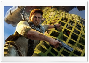 Uncharted 3 - Airplane HD Wide Wallpaper for Widescreen
