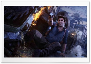 Uncharted 4 A Thiefs End HD Wide Wallpaper for 4K UHD Widescreen desktop & smartphone
