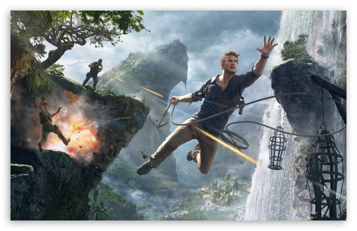 Uncharted 4 A Thief S End Ultra Hd Desktop Background Wallpaper For 4k Uhd Tv Widescreen Ultrawide Desktop Laptop Multi Display Dual Monitor Tablet Smartphone