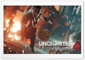 Uncharted 4 A Thiefs End Coin HD Wide Wallpaper for 4K UHD Widescreen desktop & smartphone