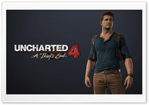 Uncharted 4 by agent13 HD Wide Wallpaper for Widescreen