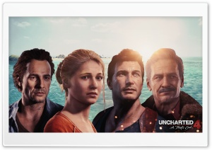 Uncharted 4 HD Wide Wallpaper for Widescreen