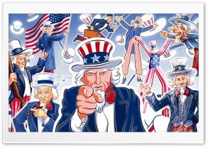 Uncle Sam HD Wide Wallpaper for Widescreen