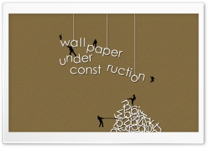 Under Construction Ultra HD Wallpaper for 4K UHD Widescreen desktop, tablet & smartphone