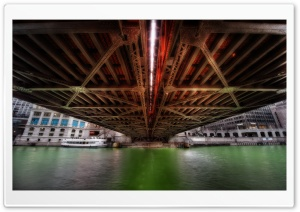 Under the Bridge HD Wide Wallpaper for 4K UHD Widescreen desktop & smartphone